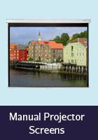 Manual Projector Screens