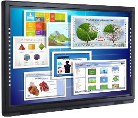 "Genee G Touch 80"" LED Interactive Touch Screen"