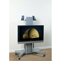 Hi-Lo 500 Electric Plasma Trolley Lift up to 65 Inch Screen