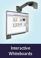 Installation gallery of interactive whiteboards